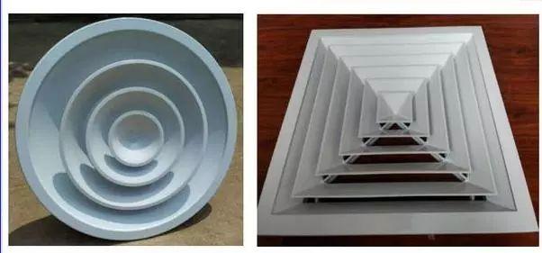 七种空调风口的分类与用途_5