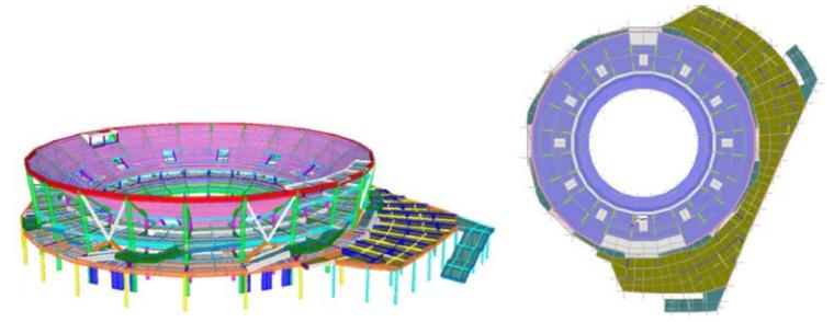 杭州奥体博览城网球中心整体结构设计研究综述_2