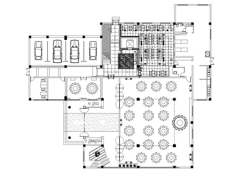 [苏州]金螳螂——新中式风格多层酒楼内部装修竣工图
