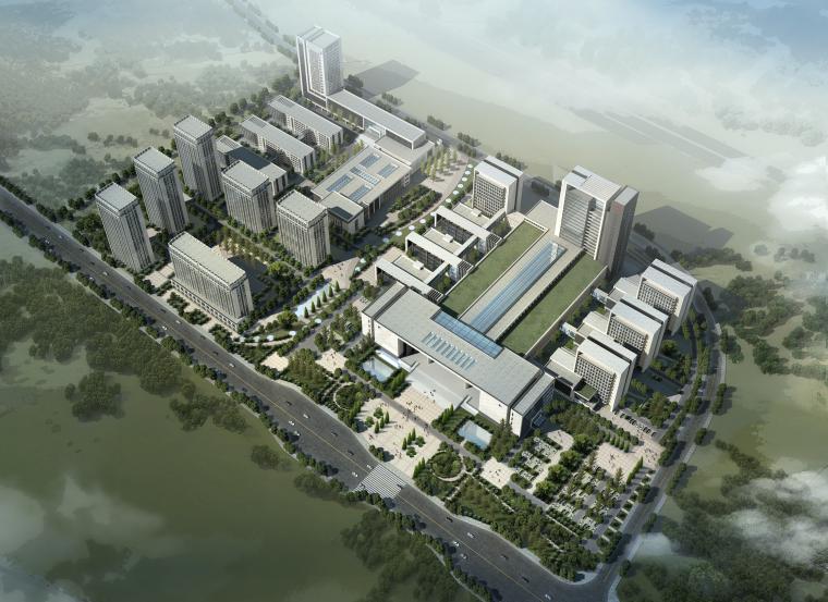 [重庆]医科大学双福医院建筑设计方案文本(SU+JPG)