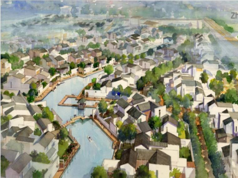 [上海]朱家角住宅项目规划设计方案文本