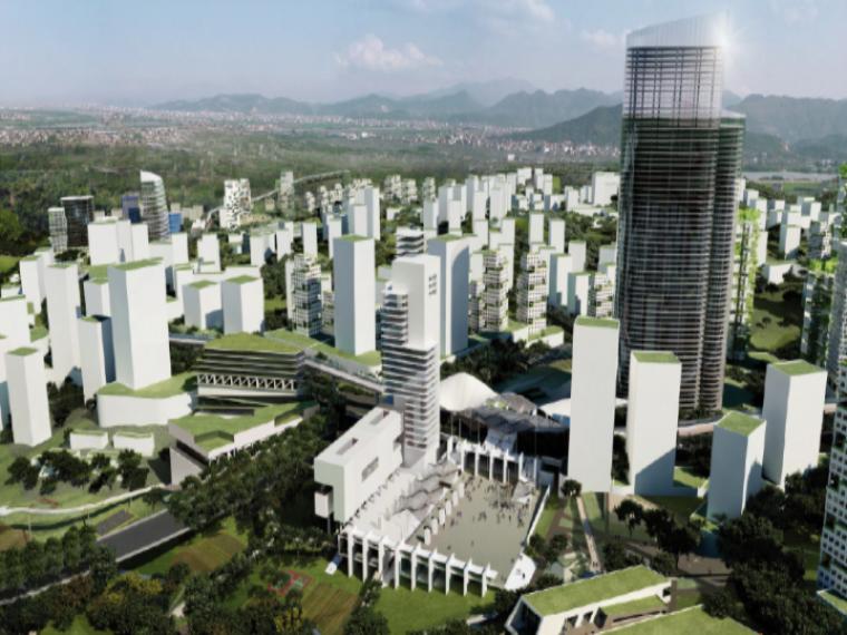 [重庆]二环时代大型聚居区翠云片区住宅规划设计方案文本