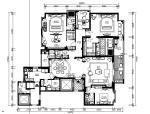 [福州]高档小区两居室设计施工图