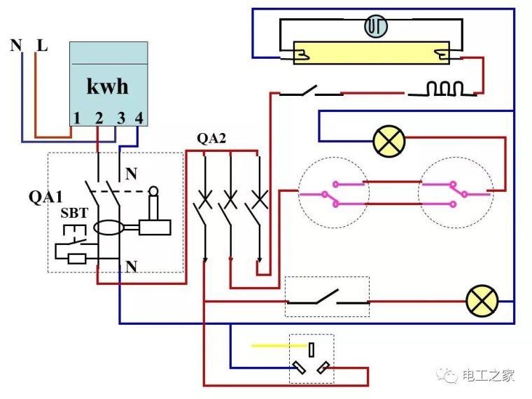 全彩图深度详解照明电路和家用线路_48