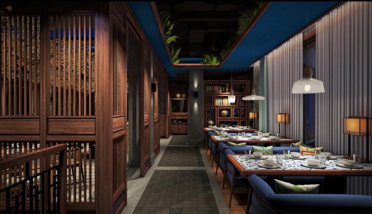 许昌群英会主题餐厅设计_4