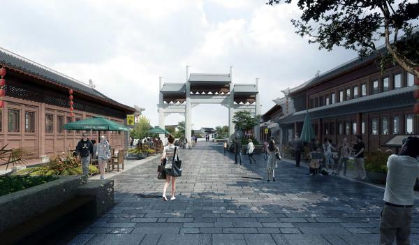 [河南]济水文化特色城市景观设计方案