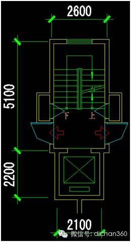 U楼梯资料下载-楼梯、电梯的24种最忧组合,最小公摊就是这么来的!