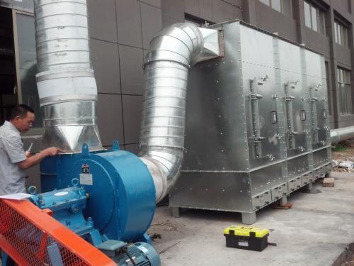 [安徽]铜陵双闪厂区工程配料与运输设备及除尘风管安装工程