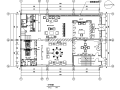 新中式风格私人茶楼会所空间设计施工图(附效果图)