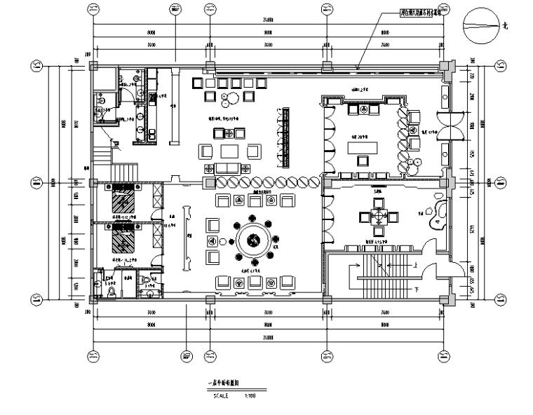 茶楼餐厅效果图资料下载-新中式风格私人茶楼会所空间设计施工图(附效果图)