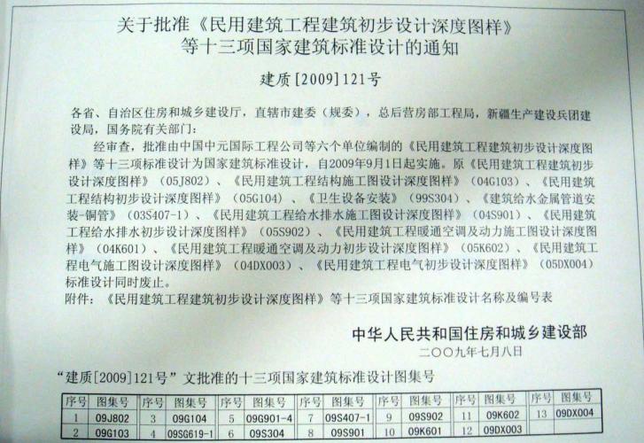G103~104民用建筑工程结构设计深度图样(2009年合订本)免费下载