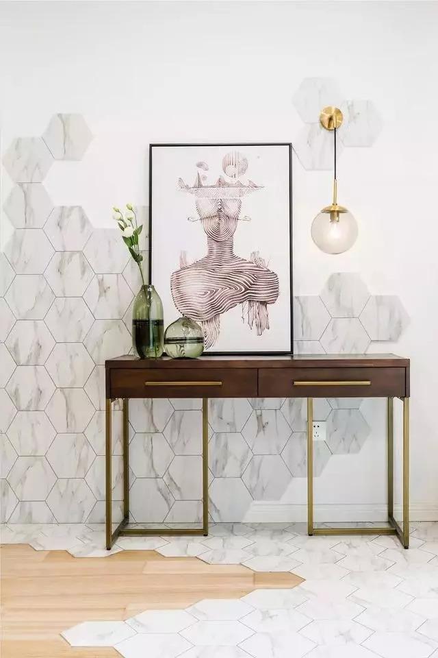 30款让人一见钟情的玄关设计,家里要装修的值得借鉴!