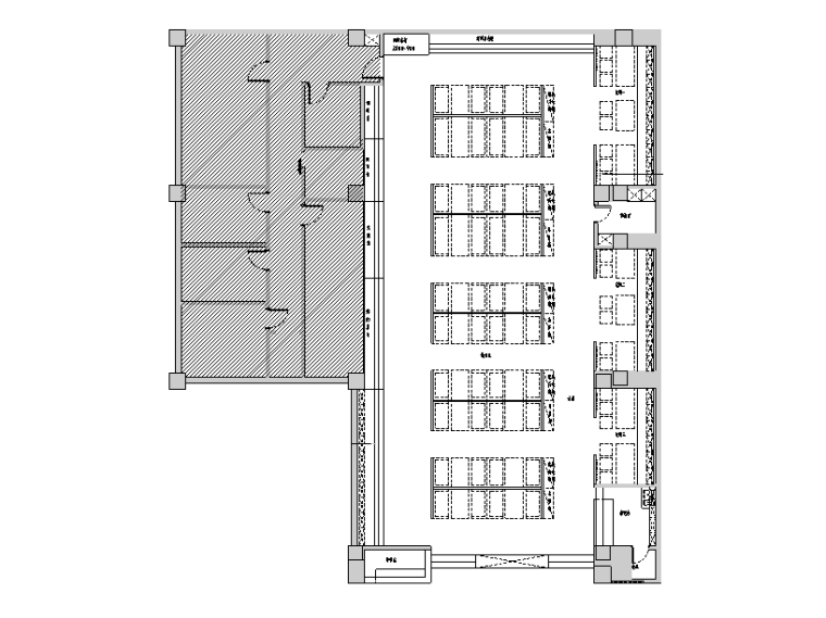 [新疆]460平米韩式料理餐饮空间设计施工图(附效果图)