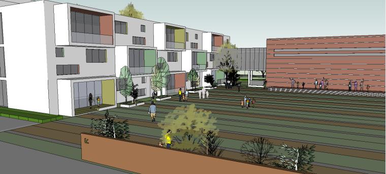 幼儿园SU建筑模型