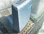 [深圳]圆润体量超现代感办公大楼建筑设计方案文本
