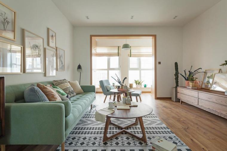 [案例]小清新的现代简约公寓