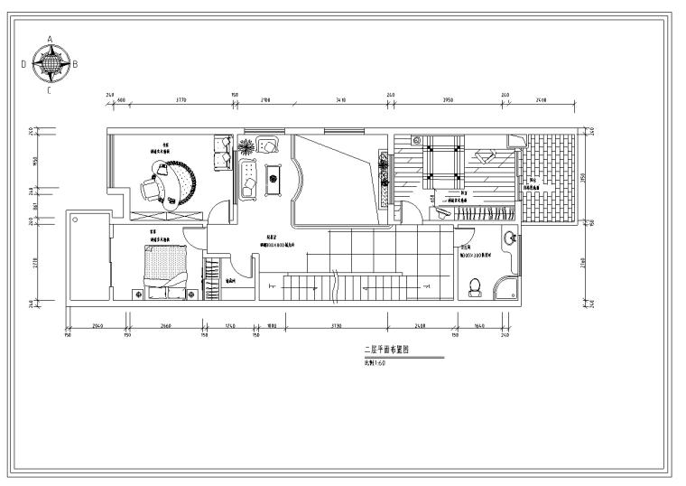万科四季花城某别墅室内设计装饰施工套图