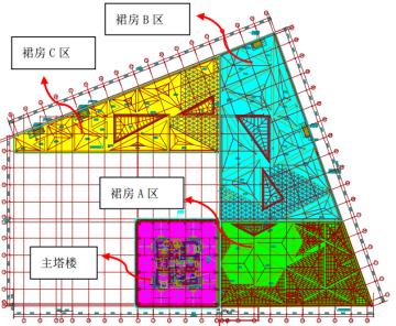 南昌绿地紫峰大厦地下室裙房基础设计