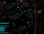 南京地下二层基坑桩撑支护施工图