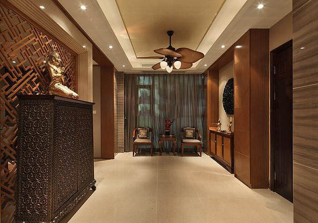 东南亚风格的家装 170平大户型 别有一番韵味!
