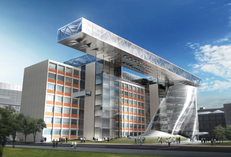 国外前沿建筑设计事务所维也纳应用艺术大学竞赛15组方案