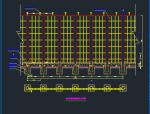 万达广场钢结构围墙施工图(含施工总平面布置图及施工进度网络图)