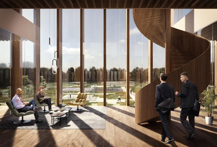 比利时可持续的Solvay国际办公总部-9