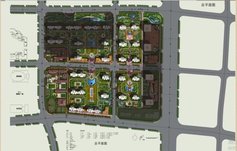绿地滨河国际D-2D地块建筑设计方案文本_6