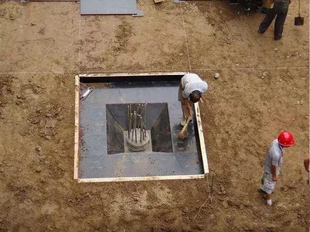 桩承台施工的工艺流程、基坑开挖、钢筋绑扎等技术问题_2