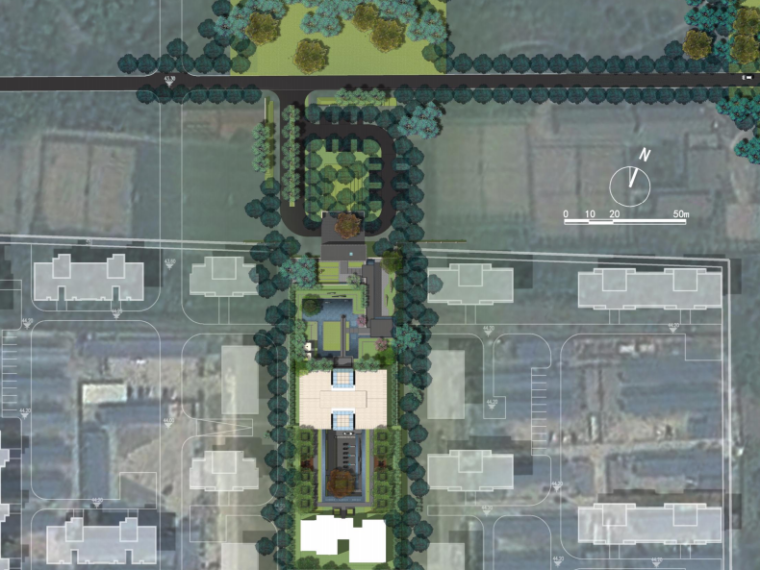 [北京]首开硅谷一号样板区景观设计方案(新中式)