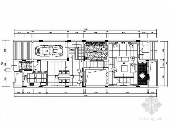 [深圳]名师设计现代新中式三层别墅装修图(含效果)