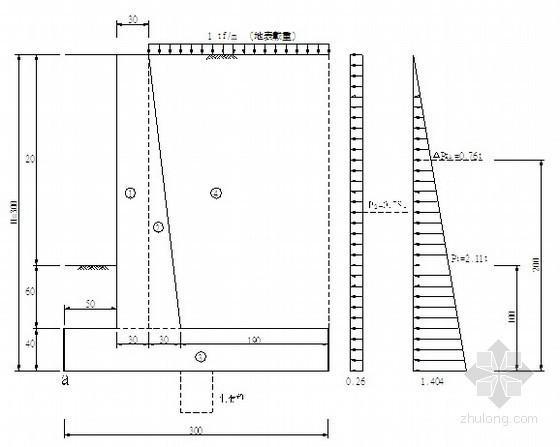 [台湾]护坡设计施工方案(挡土墙)