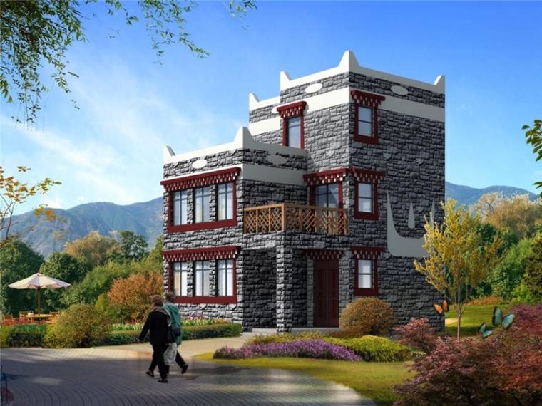 [四川]旅游景区度假村酒店建筑设计方案文本