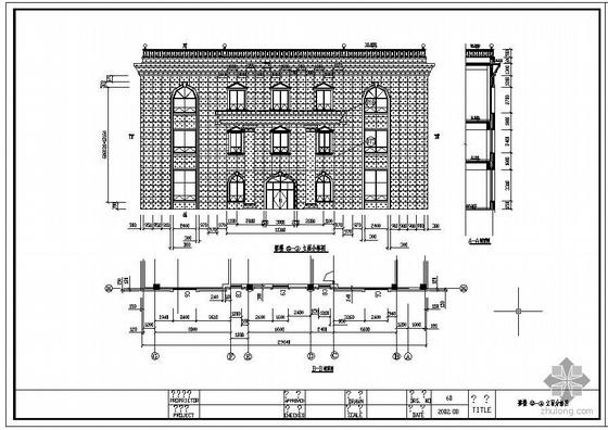 某审计厅幕墙工程设计图