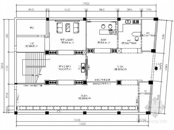 [湖南]大型现代品牌陶瓷展厅设计装修施工图