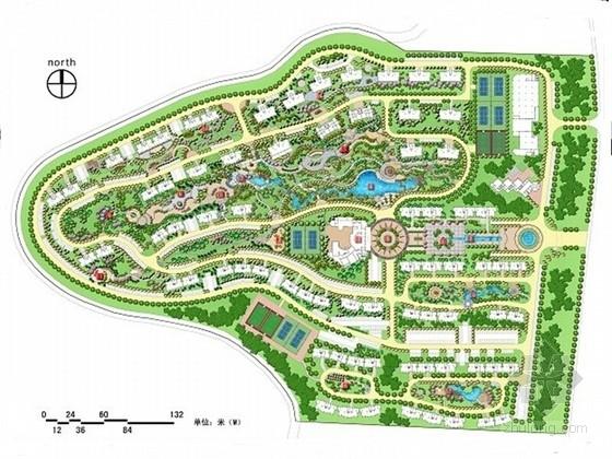 [山东]滨水小区环境景观设计方案