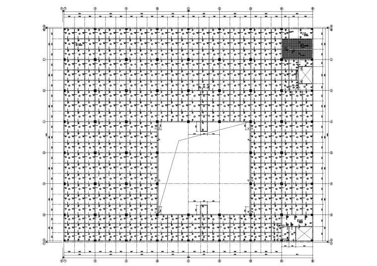 [长沙]28层带裙房框支剪力墙结构商业广场施工图