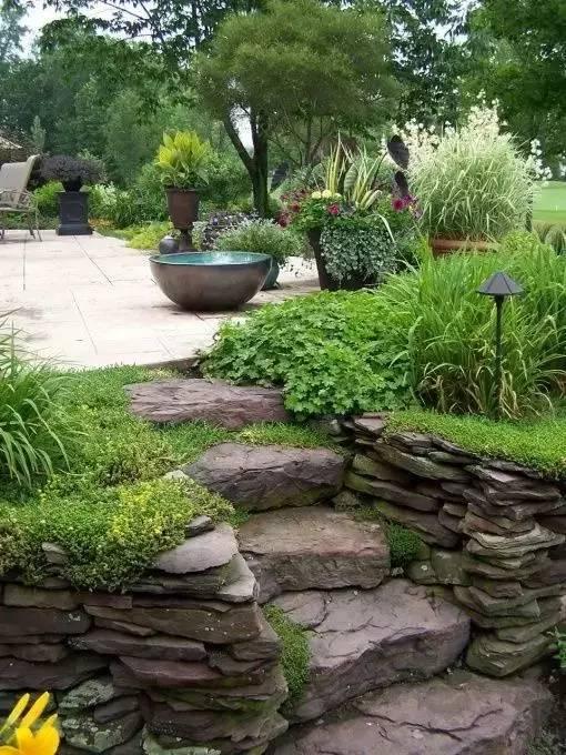 你的庄园里有这样的石元素创意景观吗?_12