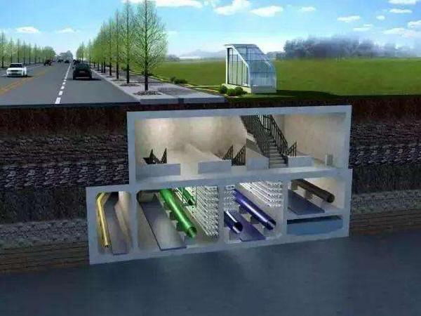 地下综合管廊内部管线排布和附属系统设计经验总结