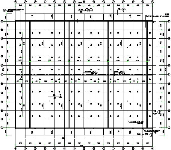 成都门式刚架钢结构工程施工图(CAD,全套)_6
