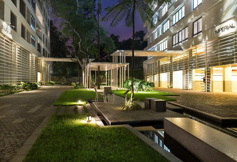 印度GODREJ住宅景观-20