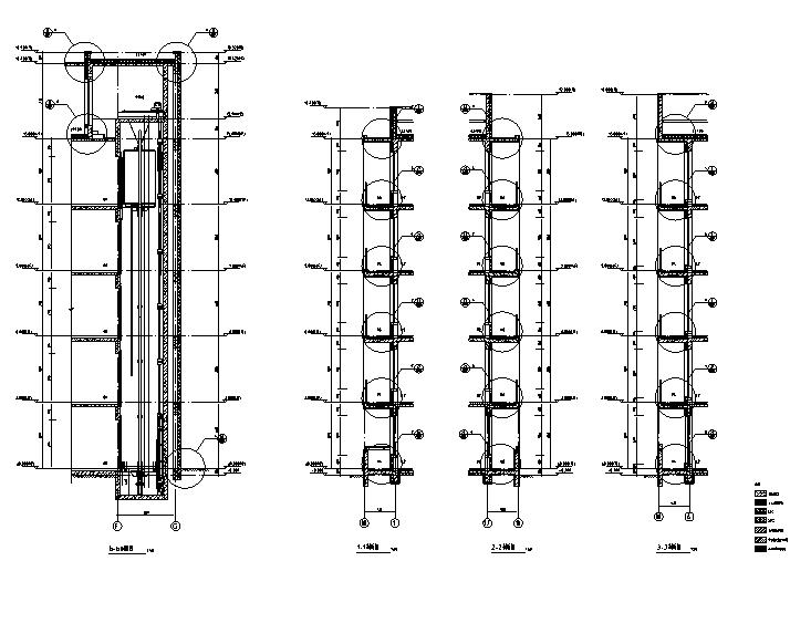 [吉林]多层框架剪力墙结构度假区住宅建筑施工图_8