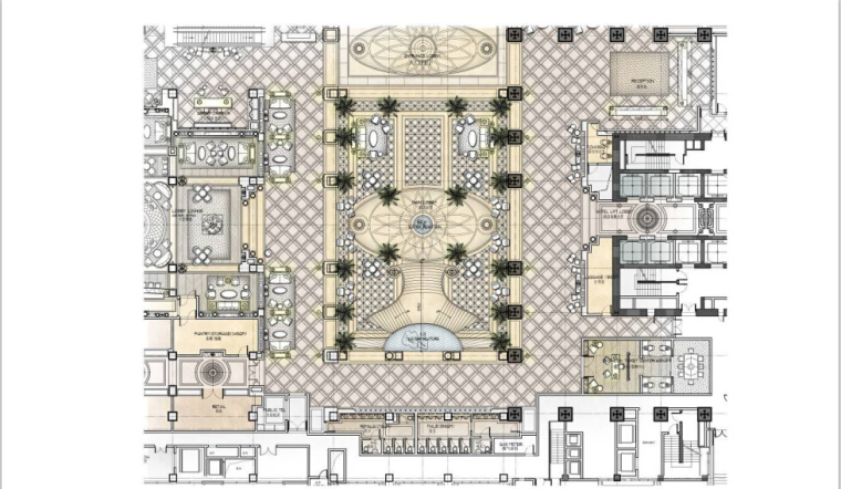 [江苏]一套完整的酒店平面概念设计方案(含效果图)_3