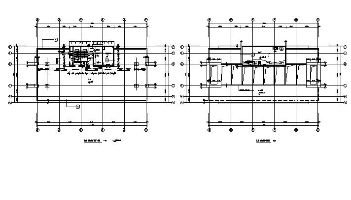 [内蒙古]高层框架结构办公、公寓及商业餐饮建筑施工图_9