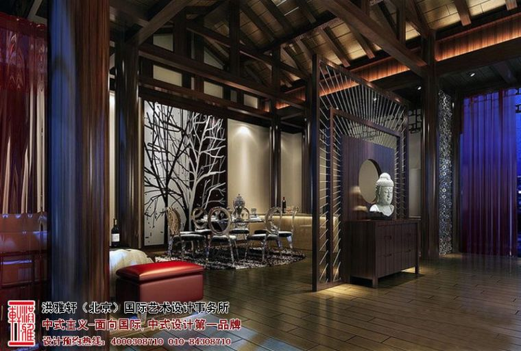 北京中式装修风格四合院古色生香,恢弘壮丽_2