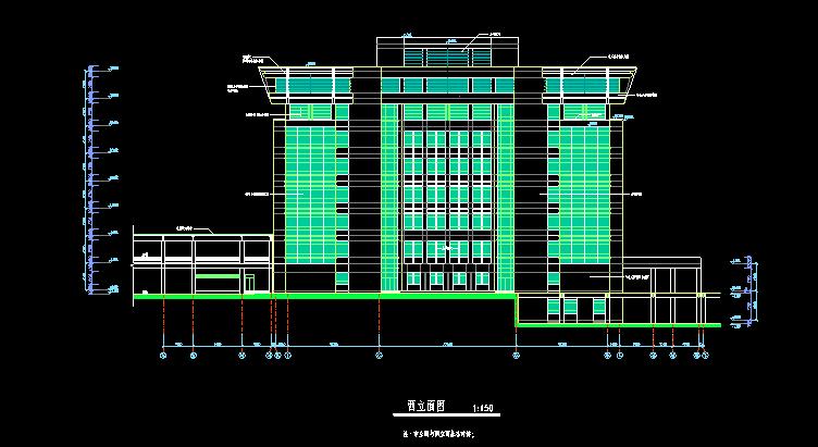 东南大学建筑设计院—济南大学图书馆建筑施工图