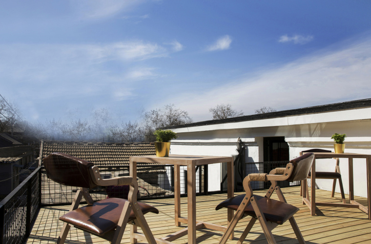 北京北海百年糖房改造-152-糖房屋顶露台