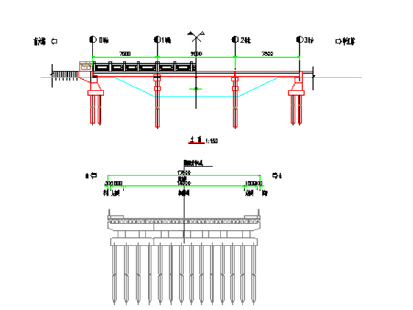 市政工程桥梁维修施工图纸