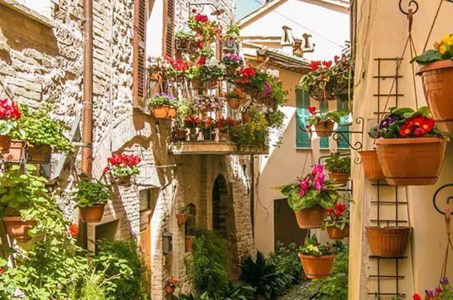 世界上最美的7个鲜花小镇子,这辈子一定要去一次!_14