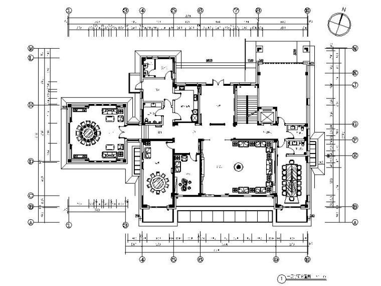 [青岛]某度假村别墅室内装修设计施工图